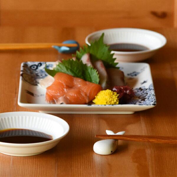 有田燒鯨魚筷架(白瓷)