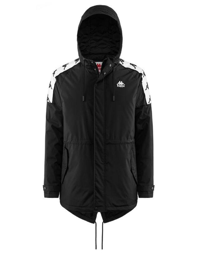 【登瑞體育】KAPPA男款長版厚外套 3031QI0918