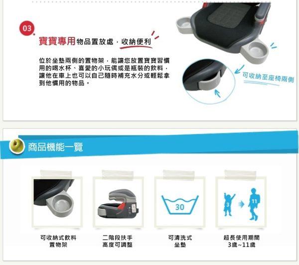 Graco COMPACT JUNIOR 幼兒成長型輔助汽車安全座椅(卡通車) 1680元【無法超商取件】 1