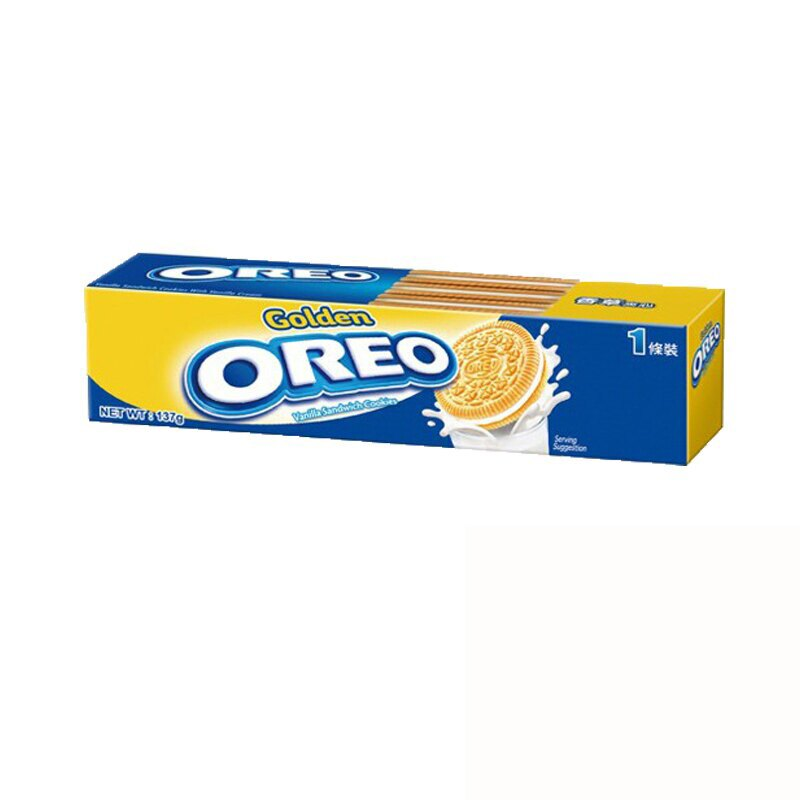 OREO 奧利奧 金奇夾心餅乾 133g (12入)/箱【康鄰超市】