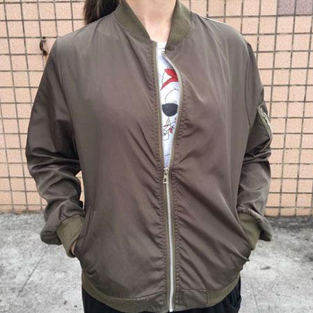 外套 韓妞最愛MA-1休閒飛行外套薄款防曬外套【C3001-1】☆雙兒網☆ 2