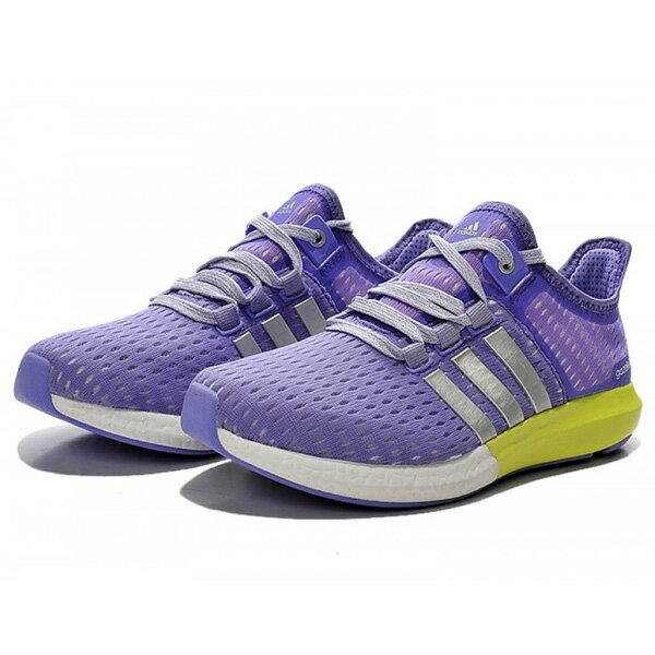 【ADIDAS】CC GAZELLE BOOST W 慢跑鞋 運動鞋 紫色 女鞋 -S77248