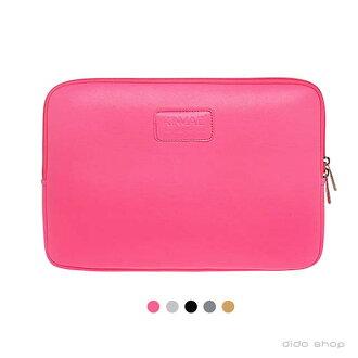 筆電包 11吋 純色系列皮革筆電避震袋(KC005)【預購】