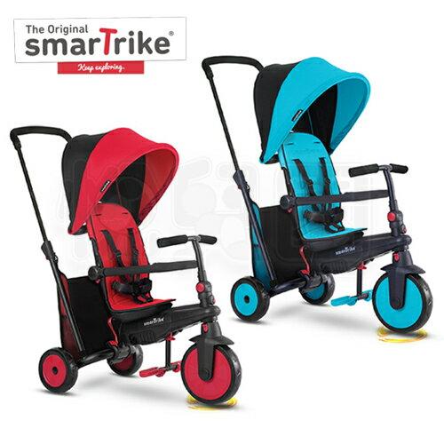 SmarTrike STR3 折疊避震三輪車 - 紅 / 藍【悅兒園婦幼生活館】 0