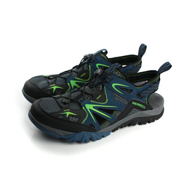 MERRELL CAPRA RAPID SIEVE 涼鞋 藍色綠 男鞋 ML35411 no638