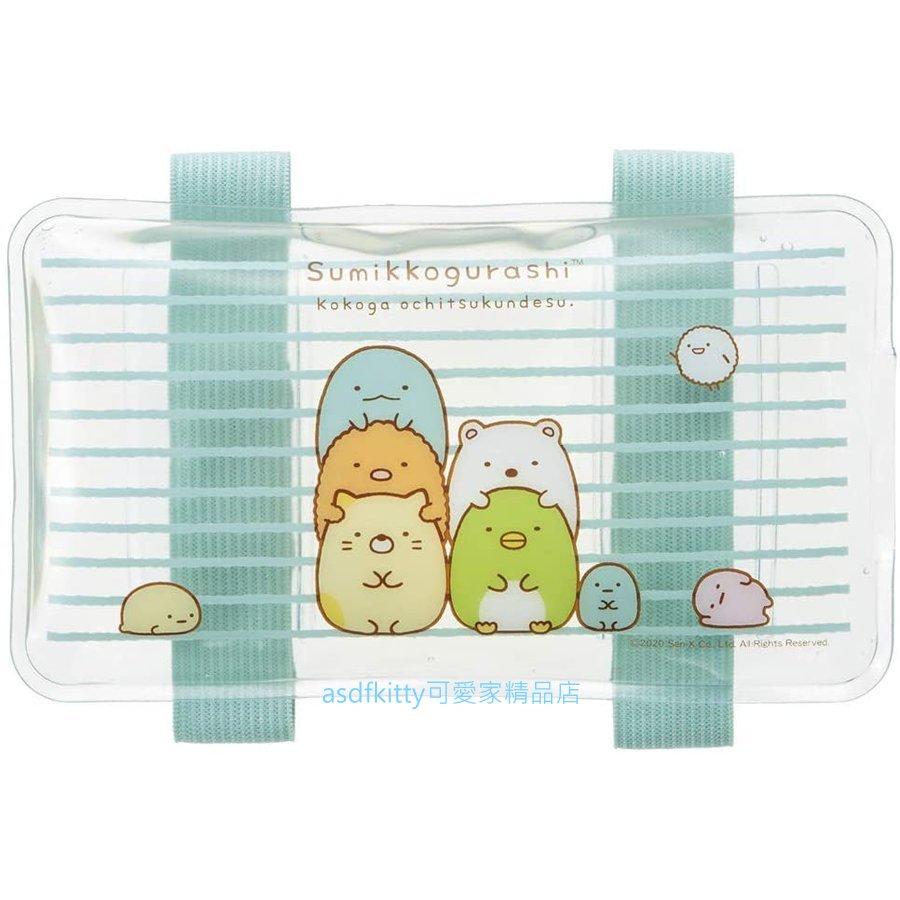 asdfkitty*角落生物有綁帶保冷劑/保冰劑-保鮮食物或牙痛-發燒降溫-冰敷-日本正版商品