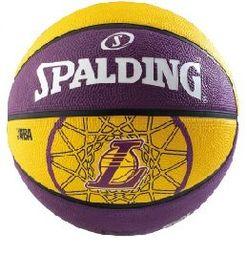 [陽光樂活]斯伯丁 SPALDING NBA隊徽籃球 湖人 LAKERS SPA83156 #7 贈品 160元Lotto 高級運動襪乙雙