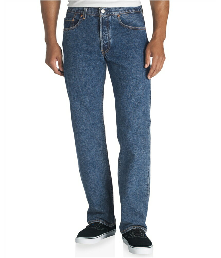 af274697 Tags Weekly: Levi's Mens Classic 501 Denim Straight Leg Jeans ...