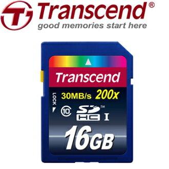 16GB 創見Transcend SDHC 16G CLASS10 30MB/s 200X 記憶卡 [天天3C]