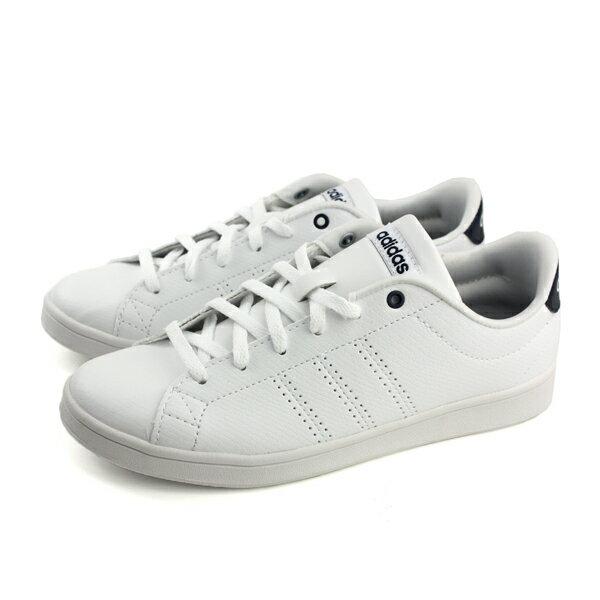 adidasADVANTAGECLEANQT運動鞋白色女鞋DB1853no576