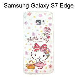 Hello Kitty空壓氣墊鑽殼 [野餐] 三星 G935FD Galaxy S7 Edge【三麗鷗正版授權】