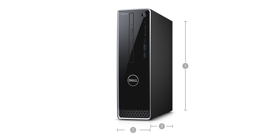 New Inspiron Small Desktop- Intel Pentium Silver J5005 - 1TB HDD- 4GB RAM