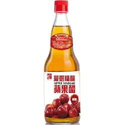 百家珍 嚴選精釀無糖蘋果醋600ml【愛買】