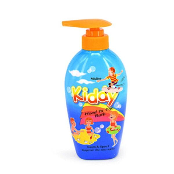 【泰國Mistine】兒童專用洗頭沐浴露-清香400ml