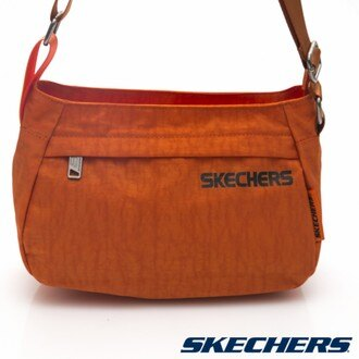 [陽光樂活] SKECHERS 小側背包 橘 - S04869
