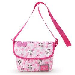 【唯愛日本】17031100009 側背包-KT櫻桃粉AAG 三麗鷗 Hello Kitty 凱蒂貓 兒童包包 側背包