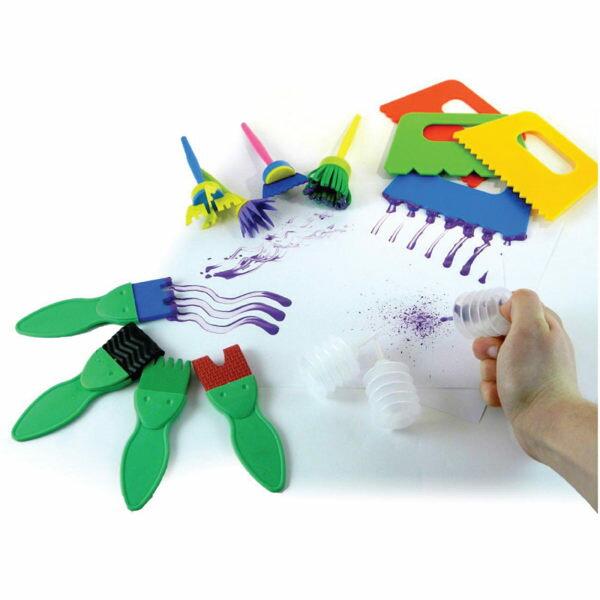 【華森葳兒童教玩具】美育教具系列-彩繪刷刷樂 L1-AT/3001/PEP
