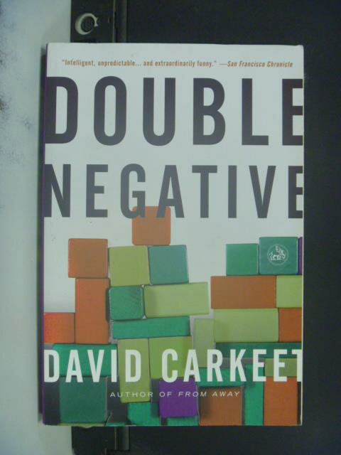 【書寶二手書T8/原文書_ONL】Double Negative: A Novel_Carkeet