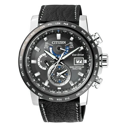 CITIZEN 星辰錶 AT9071-07E 光動能電波錶
