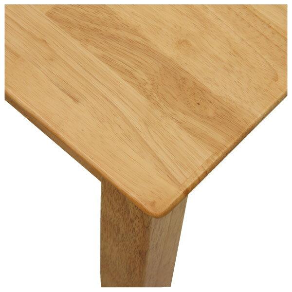 ◎(OUTLET)實木餐桌 SOLID2 LBR 福利品 NITORI宜得利家居 3