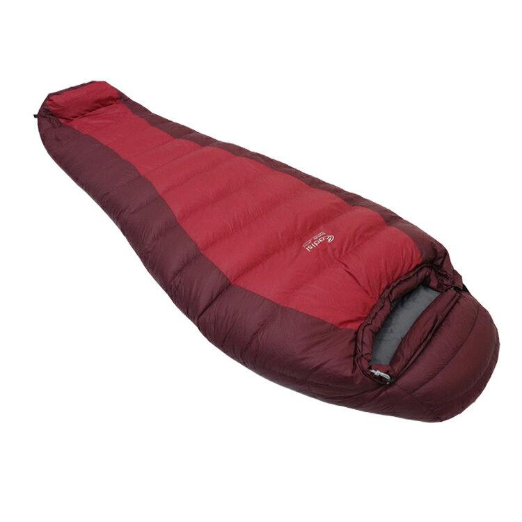 【領券滿$1500折150】ADISI EXPLORE 800 鵝絨睡袋 AS19037【紅色/深紅】/ 城市綠洲(戶外、登山露營、羽絨、輕量睡袋)