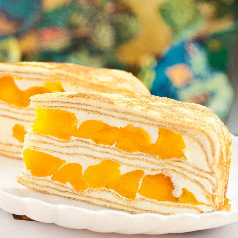父親節蛋糕【塔吉特】芒果多千層(8吋) 4