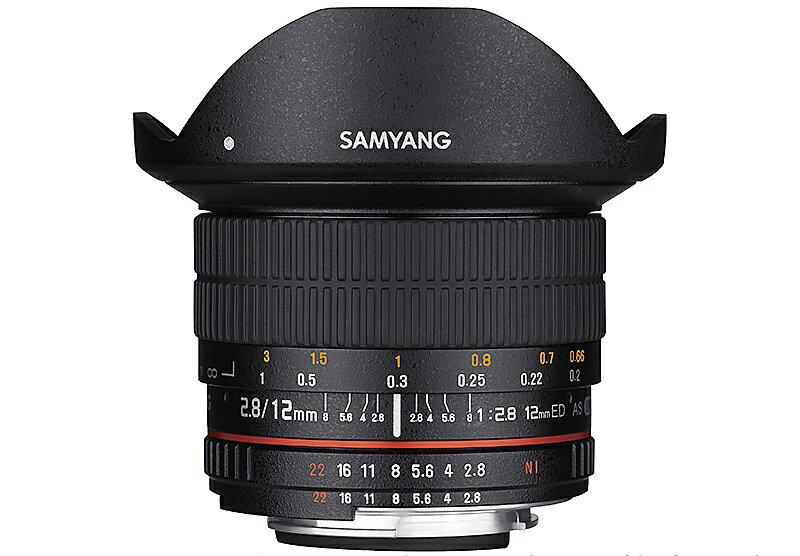 Samyang 鏡頭專賣店:12mm/F2.8 DSLR 全幅魚眼鏡頭 for Nikon AE