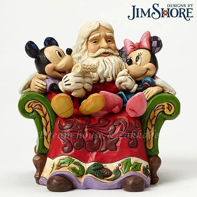 Jim Shore愛木小灣 Disney 聖誕老公公與米奇米妮 ★ 美國ENESCO精品 ★ 夢想家精品家飾