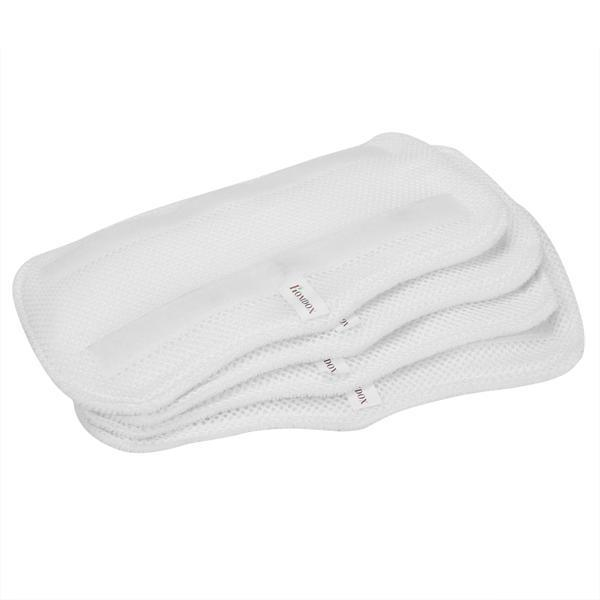 4pcs White Replacement Pads For Shark Pocket Steam Mop 1