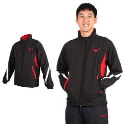 MIZUNO 男平織運動外套(免運 慢跑 路跑 美津濃 立領外套【03391350】≡排汗專家≡