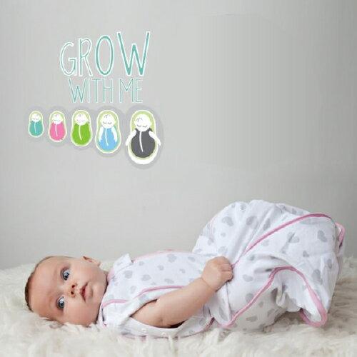 美國 Woombie 寶寶好眠成長包巾 0-18(9款可選) _好窩生活節 0