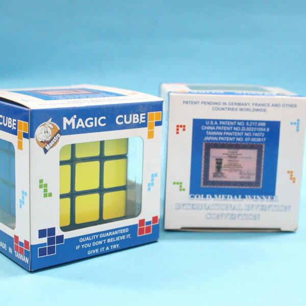 魔術方塊 製 3x3x3 魔術方塊 黑底盒裝   一個入 定 #160 5.7cm x 5