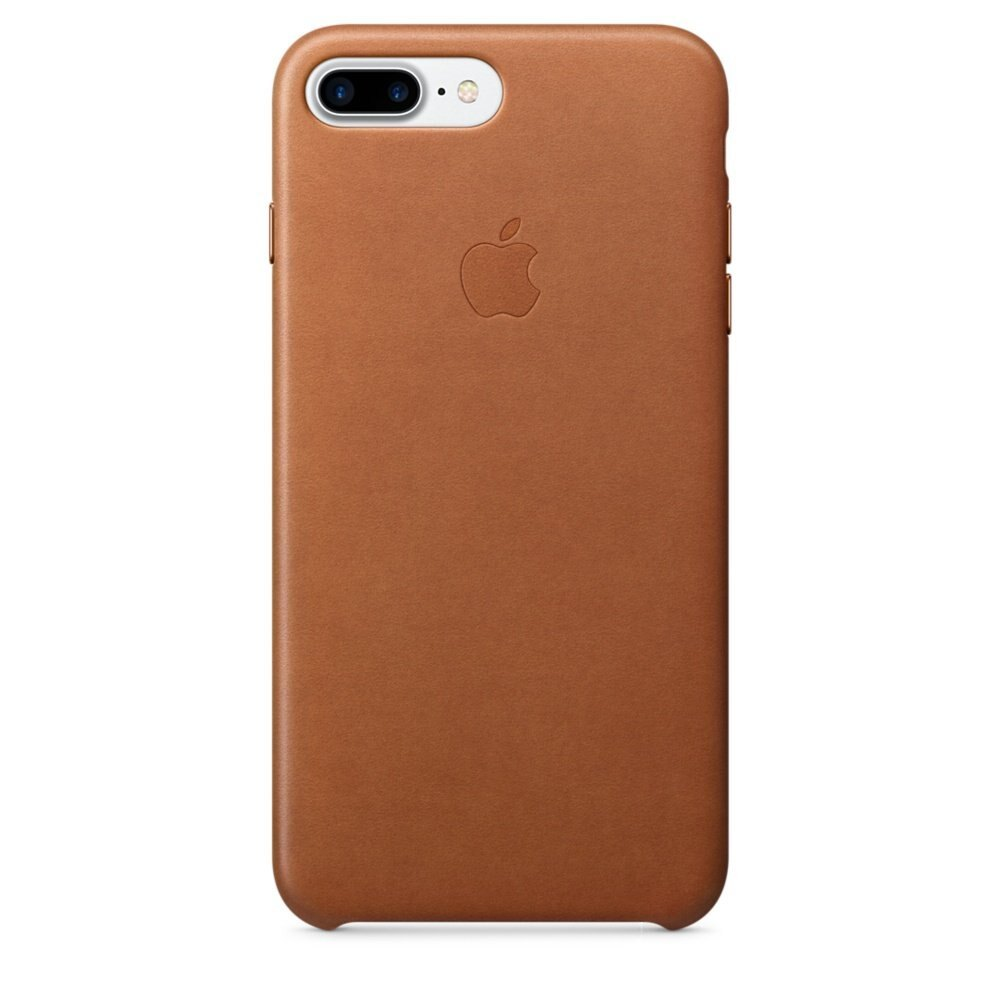 Apple Leather Case for iPhone 7 Plus - Saddle Brown MMYF2ZM/A