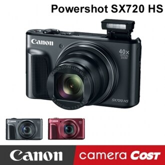Canon PowerShot SX720 HS 公司貨 送64G+電池+自拍棒+手指環+四好禮