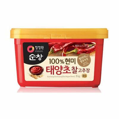 韓國 清淨園 太陽草辣椒醬 3kg【櫻桃飾品】【27027】