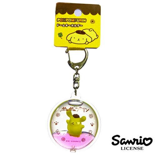 sightme看過來購物城:歡呼款【日本進口】布丁狗PomPomPurin立體漂浮鑰匙圈吊飾三麗鷗Sanrio-606082