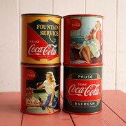 可口可樂迷你存錢筒 可口可樂系列 Coca Cola 復古 德德小品集