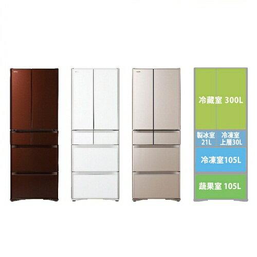 【HITACHI日立日本原裝】561公升變頻六門電冰箱RG570HJ