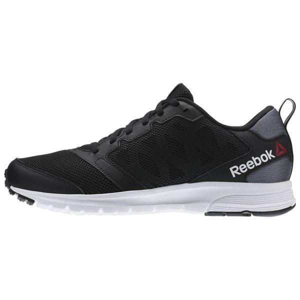 《限時特價↘7折免運》REEBOK RUSH 2.0 男鞋 慢跑鞋 輕量 透氣 黑白 【運動世界】 AR0222