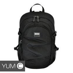 【美國Y.U.M.C. Greenwich格林系列Active Backpack 15.6吋筆電後背包 黑色】電腦包/雙肩背包 可容納15.6吋筆電 【風雅小舖】