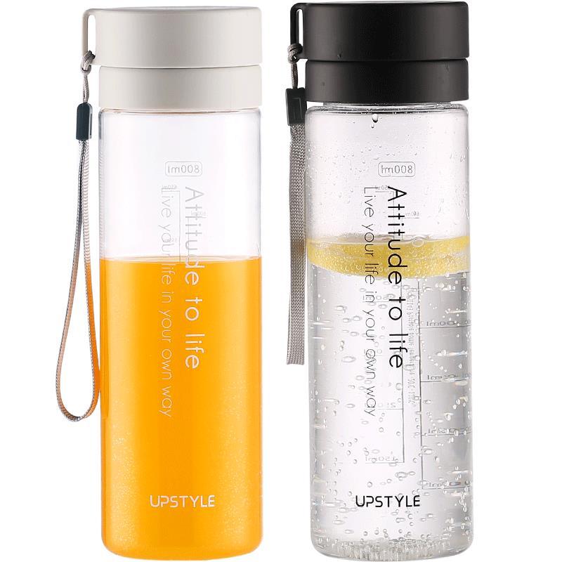 大容量運動水杯子塑料水壺男女便攜簡約學生耐高溫水瓶