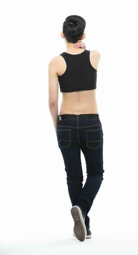 Heroine-2015新款加強排扣束胸-黑 2
