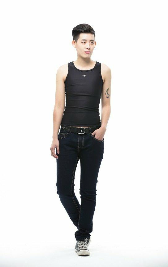 Heroine-2015新款長版雙層套頭束胸-黑 0