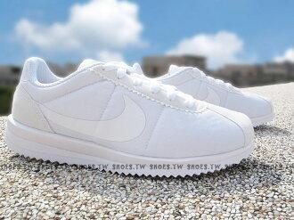 Shoestw【905112-100】NIKE CORTEZ ULTRA (GS) 阿甘鞋 全白 大童 女生可穿
