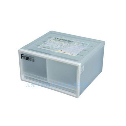 【九元生活百貨】聯府 CK-72 雙抽屜整理箱(白) 置物 收納 CK72