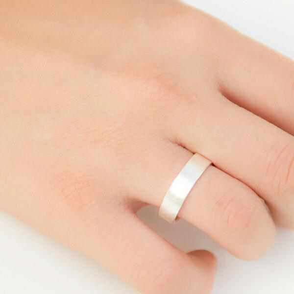 [UNIDO] 原創手作 指尖的幸福99純銀戒指 - 單只戒指/ 尺寸定製/ 刻字服務/ 定情戒/ 友情戒/ 情人節禮物