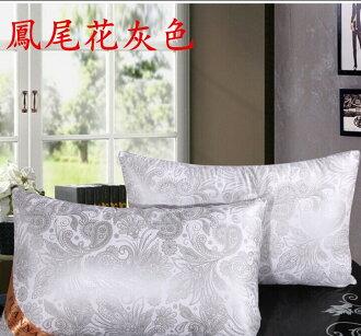五星級飯店 羽絲絨枕 枕頭 睡眠 居家 生活 團購價 鳳尾花灰色 共五色