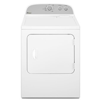 Whirlpool 惠而浦 WGD4815EW 直立式瓦斯乾衣機 (12kg)(白色)(110V) 產地:美國【零利率】