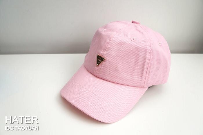 ►法西歐_桃園◄ HATer Classic Logo Low Profile Cap 彎帽 童帽 布帽 粉紅 紅
