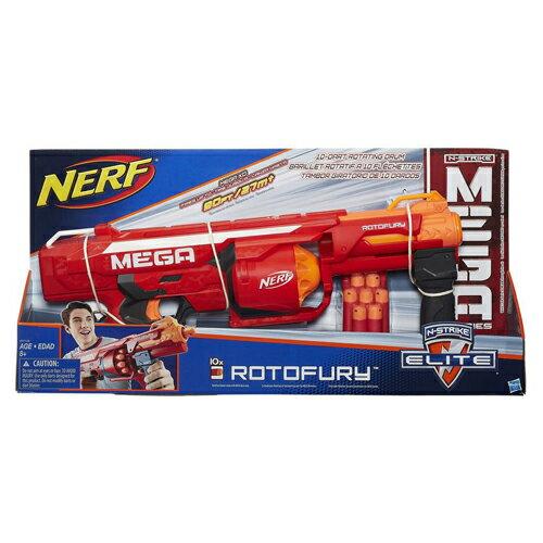 ~ NERF 樂活打擊 ~巨彈系列 ~ 十重發連發衝鋒槍 ~  好康折扣